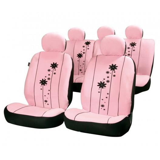 Funda textil para asientos rosa Urban Girl