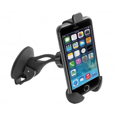 Soporte teléfono móvil universal adaptable con ventosa