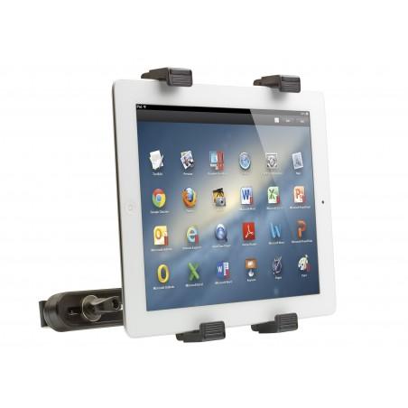 Soporte para tablet ajustable universal ventosa y fijación reposacabezas