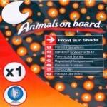 Parasol delantero Animals on board
