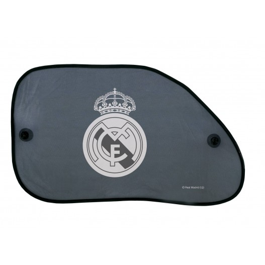 Parasol lateral con forma Real Madrid