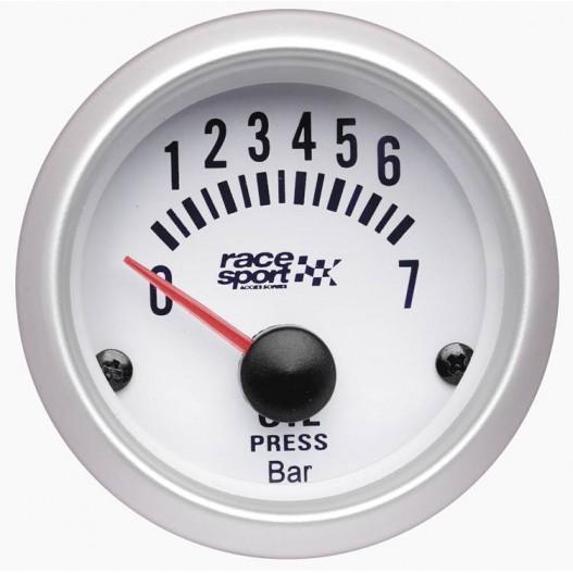 Manómetro presión aceite Race Sport