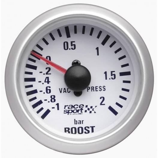 Manómetro presión turbo Race Sport