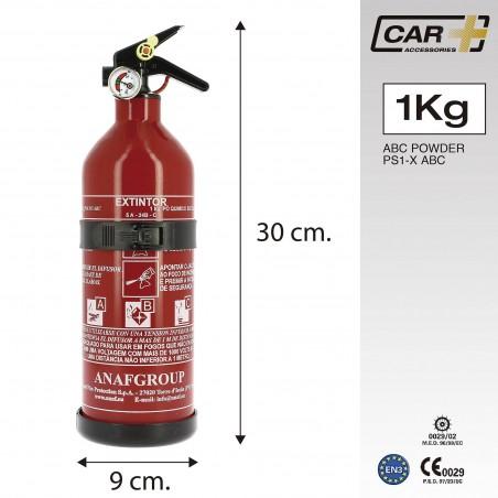 extintor 1 kg medidas