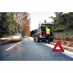 emergencia carretera triángulo