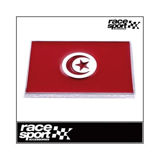 "Emblema ""Tunez"" Cromado71X46 Mm"