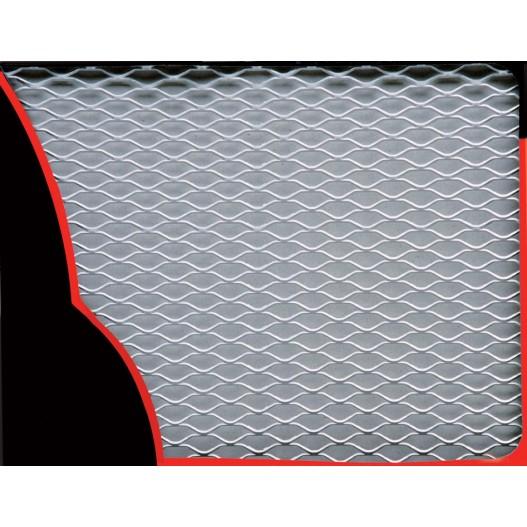 Rejilla Aluminio 30X125Cm. Plata