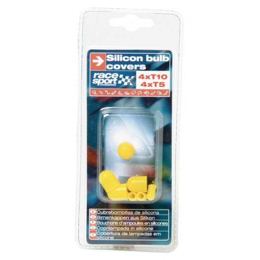 Cubrebombillas Silicona, 4 X T10, 4 X...