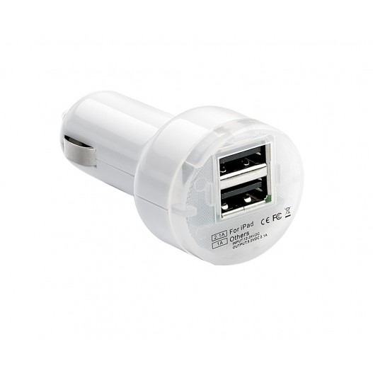 "Cargador doble USB de 2.1mA ""PULSE..."