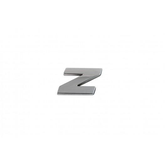 """Letra """" Z """" Cromada"""