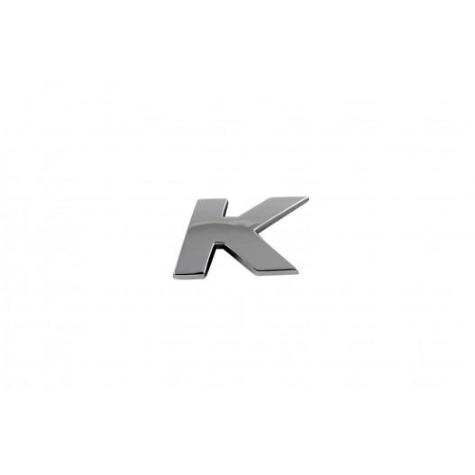 "Letra "" K "" Cromada"
