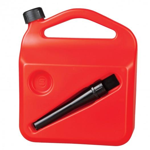 Bidon gasolina con tubo rigido