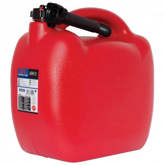 Bidón Gasolina Homologado Con Tubo Flexible