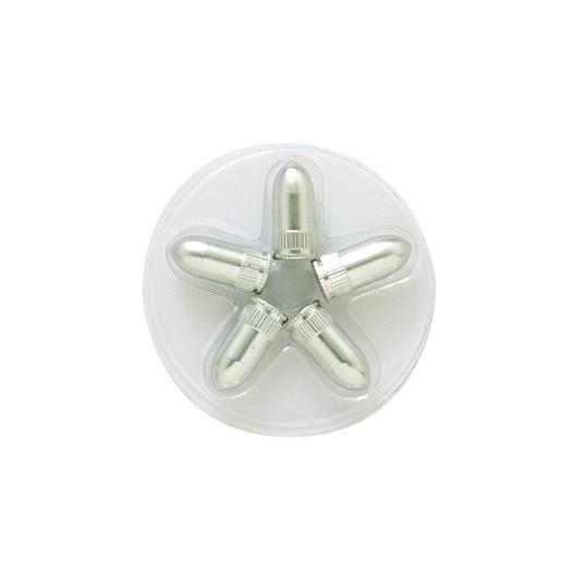 Tapones Válvula Aluminio Cilíndricos
