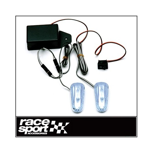 "Luz Flash ""Pace Car 2"" 12V.Transparente"
